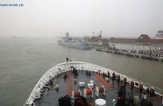China, Malaysia hold joint military drill