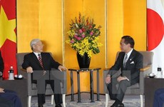 Party leader opens investmen-labour cooperation forum in Kanagawa