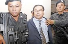 Phnom Penh court denies bail to fake treaty-related Senator