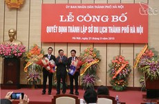 Hanoi debuts municipal Department of Tourism