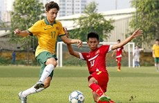 Australia defeat Vietnam to advance to finals of U16