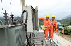 Bach Long Vy to receive stable power supply