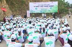 Canon Vietnam launches Shan Tuyet tea tree planting