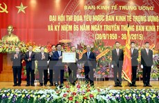 Party Economic Commission honoured for 65-year achievements