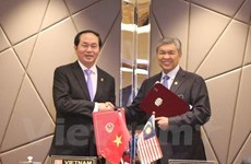 Vietnam, Malaysia sign agreement on transnational crimes