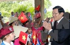 President urges strengthened Vietnam-Cuba economic ties