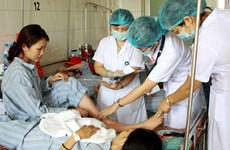 Dengue patients overwhelm hospital for tropical diseases