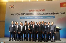 RoK firms share corporate social responsibility in Vietnam