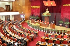 Party Central Committee's 12th meeting completes designed contents