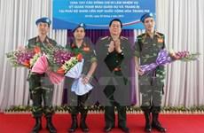 Vietnam active in UN peacekeeping mission