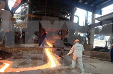 Iron and steel complex becomes operational in Cao Bang