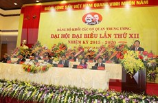 Party Organisation of Central Agencies Bloc opens 12th congress