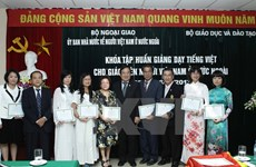 Course boosts Vietnamese teaching capacity for expats