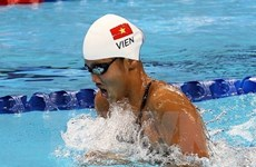 Swimmer Anh Vien to compete again in FINA World Cup