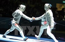 Vietnamese fencer claims gold at U23 championships