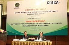 RoK supports Vietnam's green growth