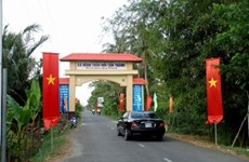 Hau Giang promotes new-style rural building
