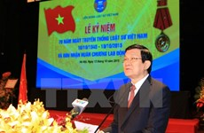 State leader greets lawyers on traditional day