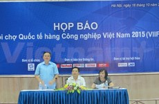 Vietnam International Industrial Fair 2015 to open this month