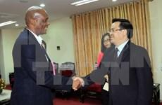 South Africa happy about Vietnam's achievements