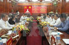 Binh Phuoc, Cambodia's Kratie province step up co-operation