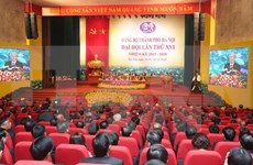 Hanoi's Party Congress approves personnel list for new tenure