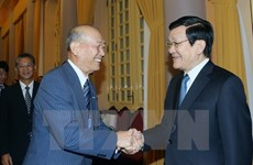 State President welcomes Japanese guest