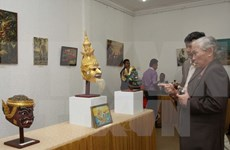 Cambodian culture exhibition opens in HCM City