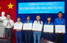 Vietnamese students benefit from Germany-funded scholarship