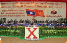 Laos: LPRP convenes 10th National Congress