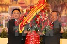 Lao leaders receive Vietnamese Party chief's special envoy