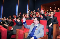 New Party Central Committee hoped to promote unity, democracy