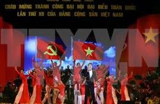 Localities hold events to celebrate National Party Congress's end