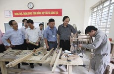 Hanoi: 3.1 million USD for 2016 vocational training