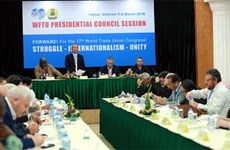 Hanoi hosts WFTU Presidential Council's meeting