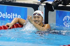 Vietnamese swimmer wins silver in Florida