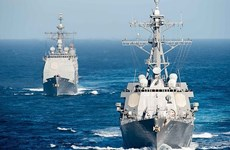 Indonesia, US make plan for 2016 regular navy drill