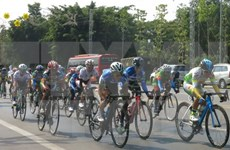 Japanese team win Binh Duong int'l women's cycling race