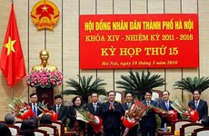 Hanoi adds leaders of municipal People's Council and Committee