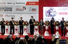 Co-located supporting industries expos open in Hanoi