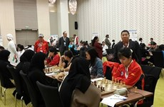 Vietnam rank eighth in chess at Asian National Cup