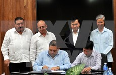 Vietnamese construction products introduced in Cuba