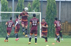 Vietnamese football team to train abroad for AFF Cup
