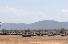 Thai army holds biggest-ever exercise