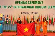 27th International Biology Olympiad opens in Hanoi