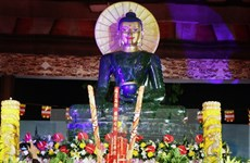 World's largest Jade Buddha statue comes to Thai Nguyen