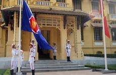 ASEAN flag raised in Hanoi on ASEAN's foundation day