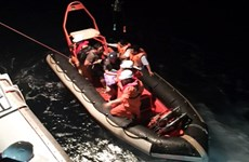 Foreign sailor rescued offshore Da Nang City