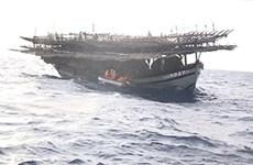 Vietnamese fishing ships denied shelter in Bong Bay Island