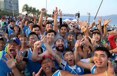 Barefoot runners to race on Da Nang beach